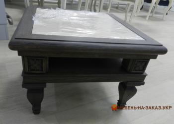 деревянный кофейный столик на заказ Буча