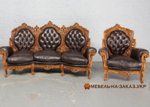 изготовление кожаных диванов