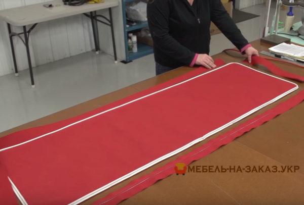 изготовление мягкой мебели для катеров под заказ