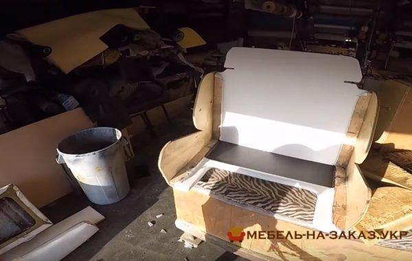 как делают кресла для авто