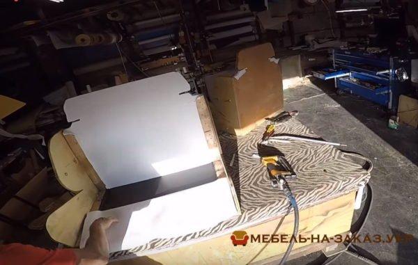 как делают диваны для авто