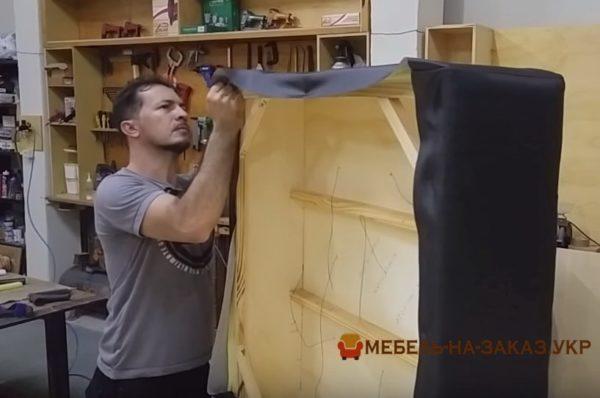 как изготавливают пуфики
