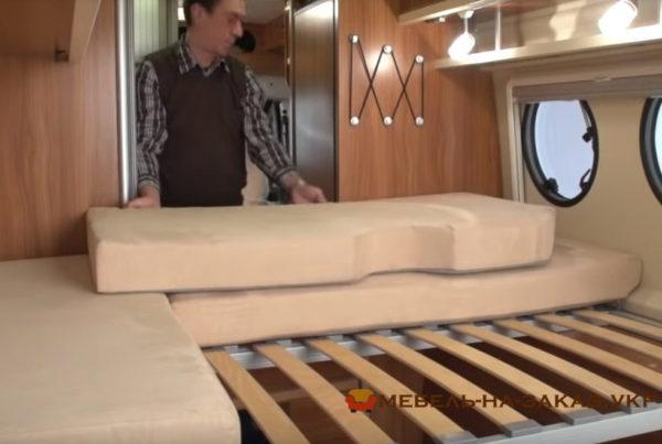 перетяжка салона катера