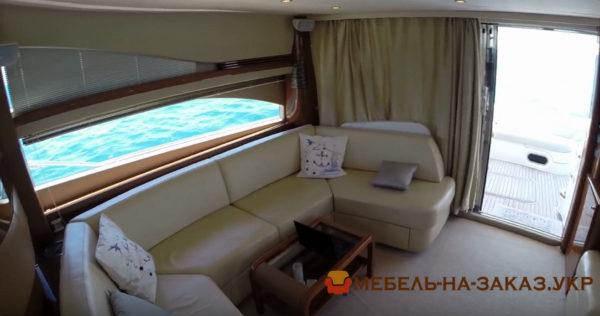 пошив мебели для яхт под заказ в киеве