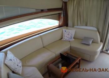 п образный диван для яхты