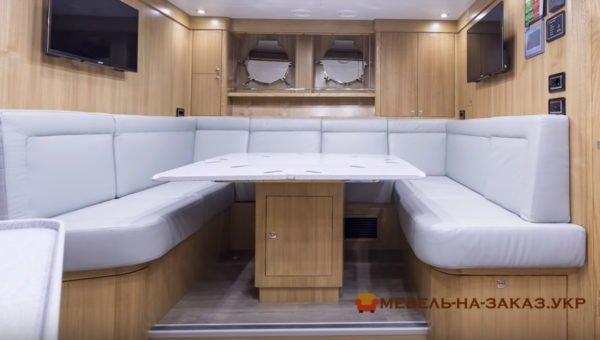 диваны для трейлеров и яхт