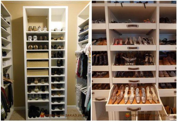 заказать изготовление деревянной обувницы