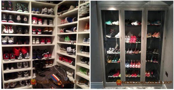 ниша для хранения обуви