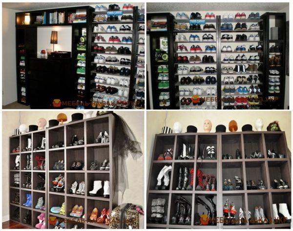 заказать шкаф для обуви