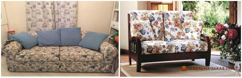 как выглядит мягкая мебель прованс