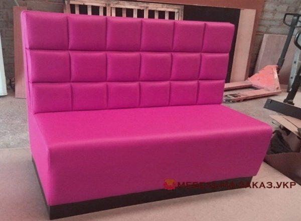 мебель в кафе розовая на заказ