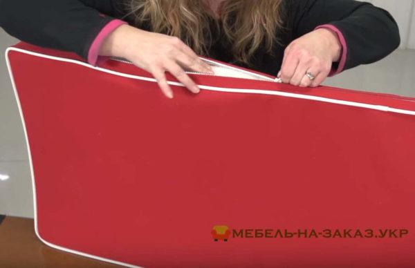 изготовление мягкой мебели для яхт на заказ в Киеве