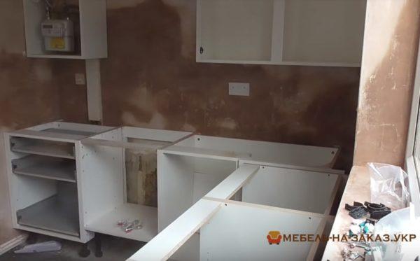 изготовление эконом кухни на заказ Киев