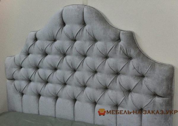кровать мягкая с большим изголовьем Чернигов