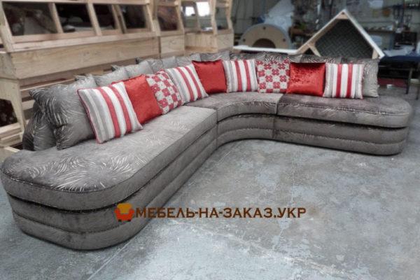 шикарный диван п образной формы Конча заспа