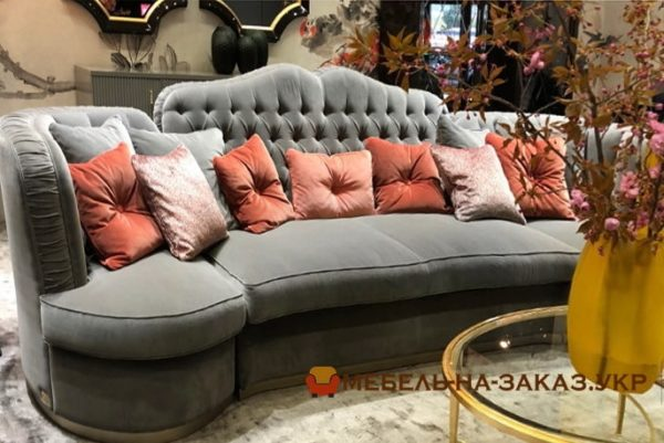вариантв прямых диванов на заказ