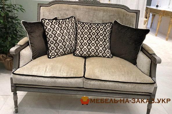 кровать-диван прямой