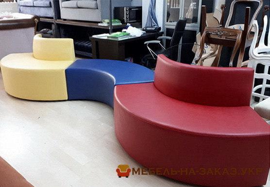 угловые нестандартные диваны модульные диваны