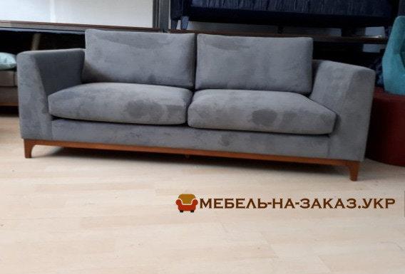 серый офисный диван на заказ