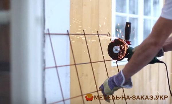процесс изготовления бетонной столешки