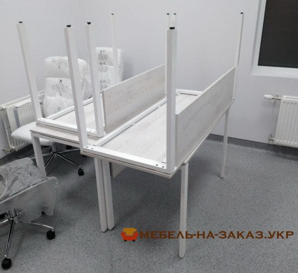 столы модульные на металлической  базе