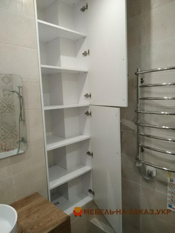 встроенная мебель в ванную