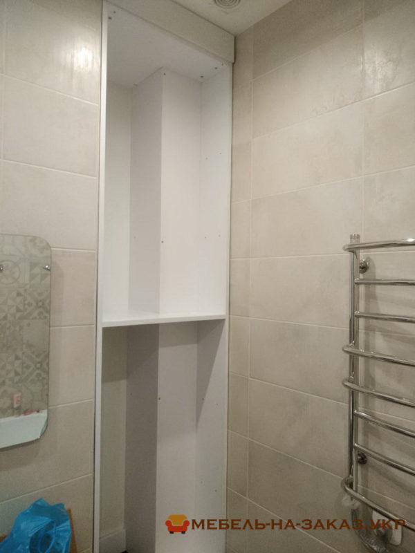 встроенный шкаф из дсп в ванную