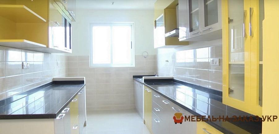 Паралельные кухни производитель МебелАртис
