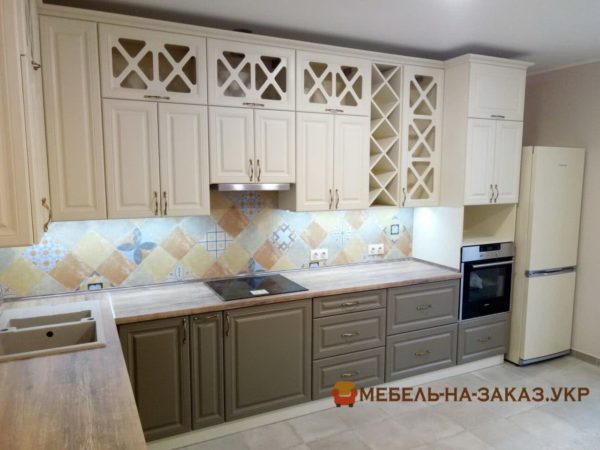 Кухня угловая под заказ Печерский район