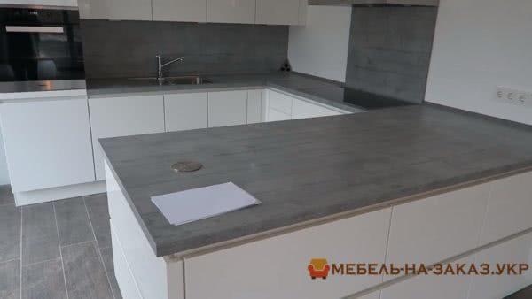 Деревянная кухня на заказ м. Крещатик