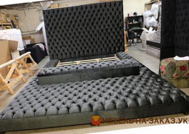 элитная мягкая кровать