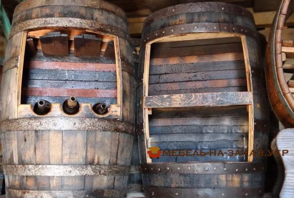 деревянные изделия из бочки
