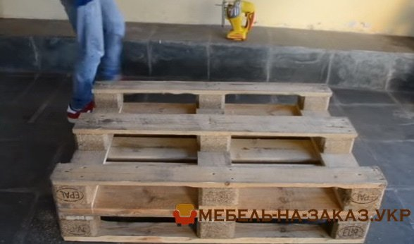 изготовление мебели из паллет под заказ в Киеве