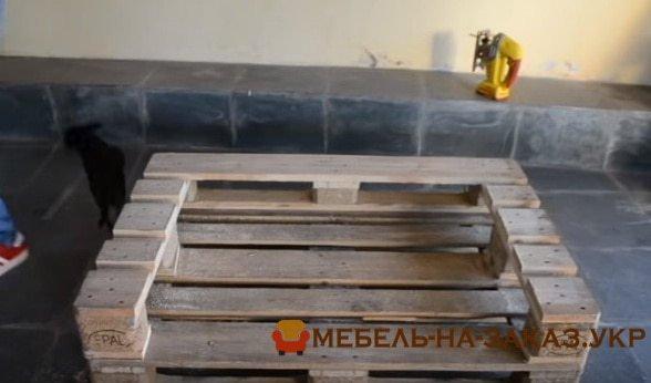 изготовление мебели из деревянных паллет Буча