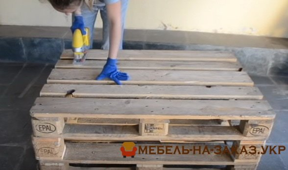 производитель мебели из паллет Вишневое