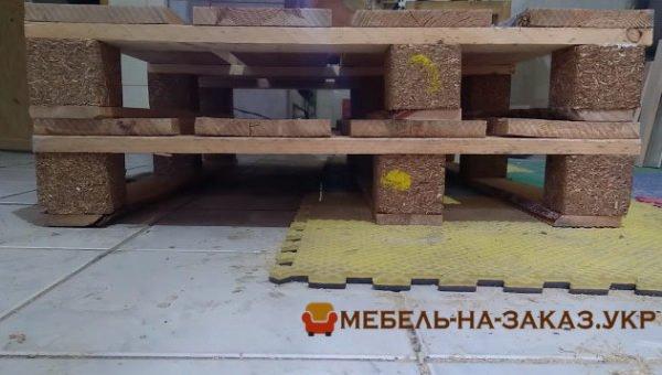 мебель из поддонов на заказ в Киеве