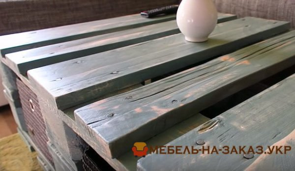 диван из поддона на заказ Ирпень