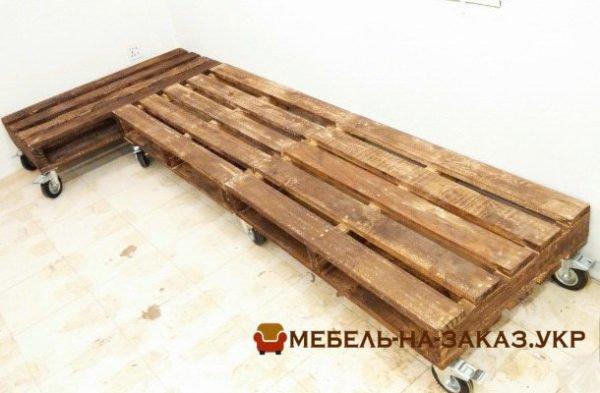 мягкая мебель лофт из поддонов Печерск