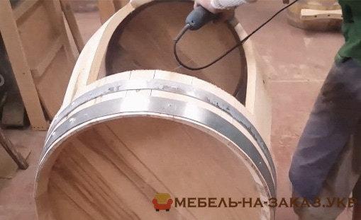 изготовление бочки на заказ из дерева