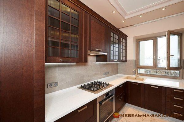 Угловая кухня на заказ Проспект Генерала Ватутина