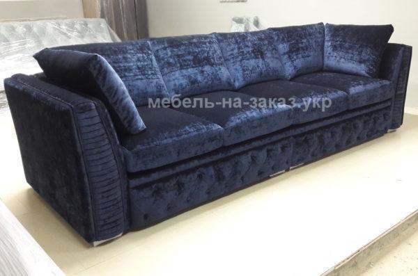 синие диваны на заказ Конча заспа