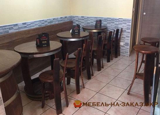 деревянная мебель из дубовых бочек