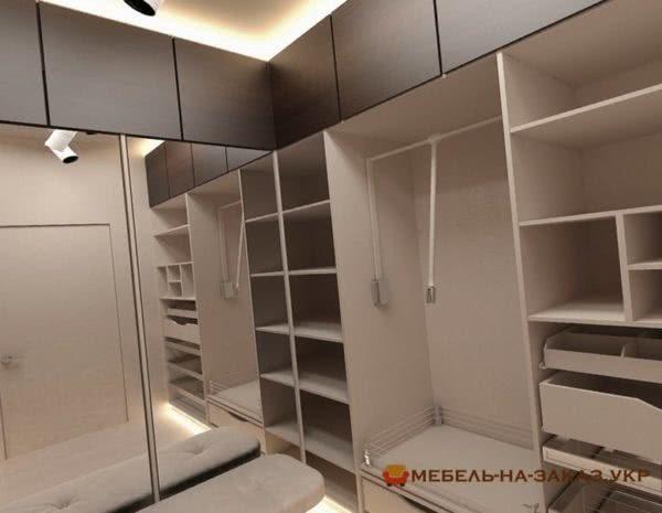 гардеробная заказная мебель Киев