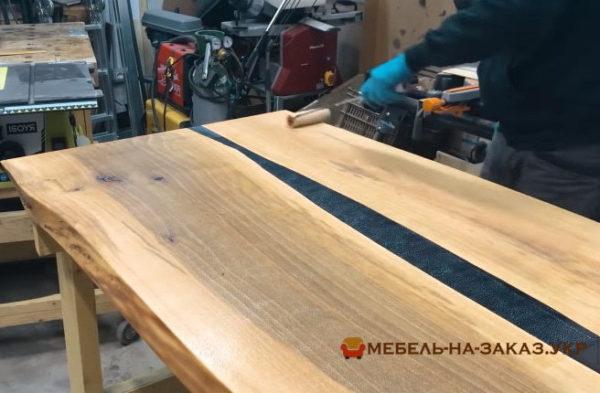 стол из массива дуба на заказ