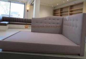 дизайнерская кровать на заказ в Киеве