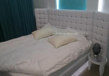 авторская мягкая кровать под заказ Житомир