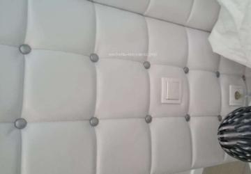 авторская мягкая кровать под заказ Подол