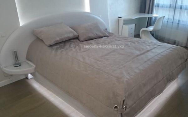 авторская мягкая кровать под заказ Подол Левый берег