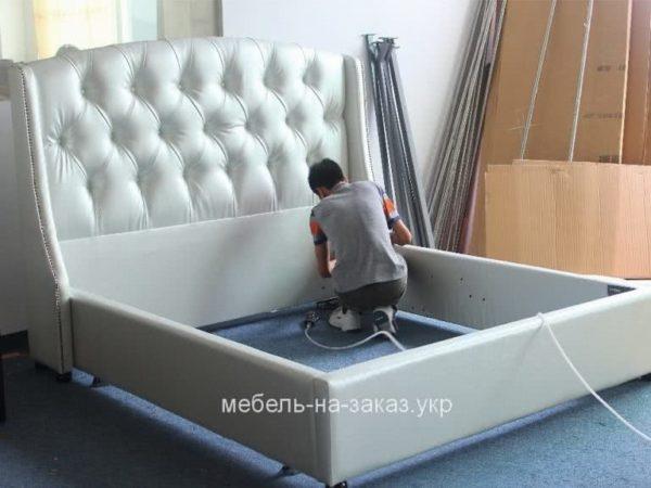 сборка мягкой кровати