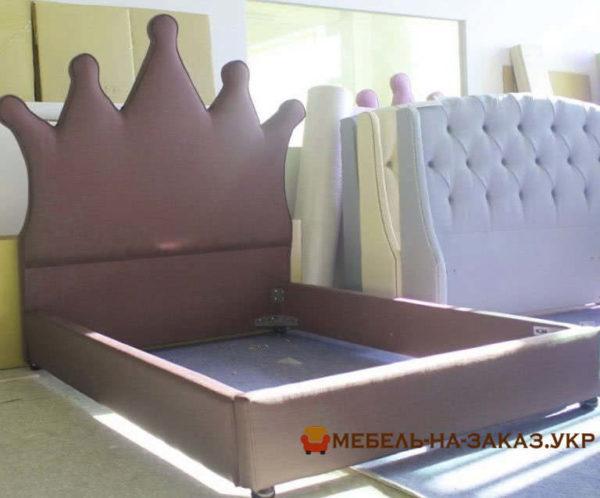 кровать с короной на заказ